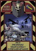 Roads of Apocalypse (4th ed.) - Set 33: Fuel templars Turret masters & Battle Molewolf modkit