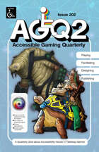 Accessible Gaming Quarterly Issue 6, October 2021