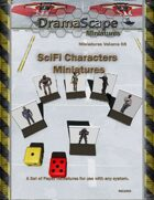 SciFi Characters Miniatures