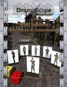 WWII Soldiers Germans & Americans