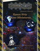 Space Ship Paper Miniatures