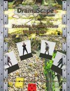 Zombies Vs Survivors Miniatures