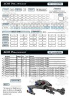 Star Fleet: Romulan Reference Cards