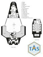 TAS 2D Deck Plan Templates