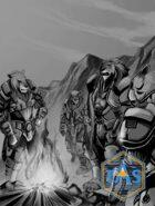 TAS Humans and Aliens Clip Art