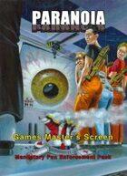 Paranoia Games Master's Screen