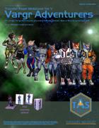 Traveller Paper Miniatures Vol. 5 Vargr Adventurers