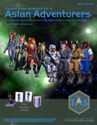 Traveller Paper Miniatures Vol. 6 Aslan Adventurers
