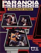 Paranoia Gamemasters Screen & Adventures - First Edition