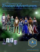 Traveller Paper Miniatures Vol. 12 Zhodani Adventurers