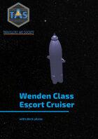 Wenden Class Escort Cruiser