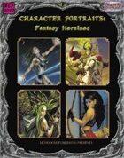Character Portraits: Fantasy Heroines