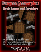Dungeon Geomorphs 1 - Basic Corridors and Rooms