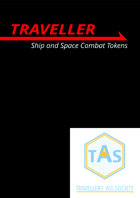MgT Traveller Ship and Space Combat Tokens