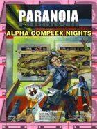 Alpha Complex Nights