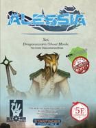 Alessia Promo PDF - Xei, Dragonsworn Ghost Monk
