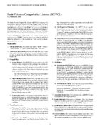 Basic Psionics Compatibility License (BXΨCL)