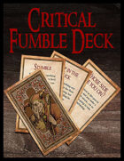 Critical Fumble Deck - Fifth Edition