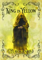 The King in Yellow - Playing Cards