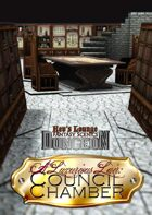 A Luxurious Lair: Council Chamber by Kev's Lounge