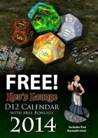 D12 Calendar with bonuses 2014 by Kev's Lounge