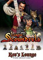 Kev's Lounge Paper Minis: League of Scoundrels