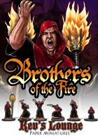 Kev's Lounge Paper Minis: Brothers of the Fire