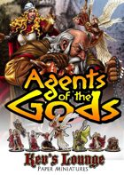 Kev's Lounge Paper Minis: Agents of the Gods