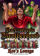 Kev's Lounge Paper Minis: Sacraments of the Brotherhood