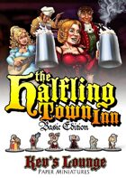 Kev's Lounge Paper Minis: The Halfling Town Inn (Basic Edition)