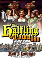 Kev's Lounge Paper Minis: The Halfling Town Inn (Deluxe Edition)