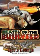Kev's Lounge Paper Minis: Beasts of the Bushveld