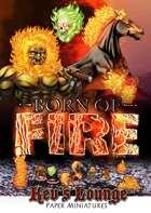 Kev's Lounge Paper Minis: Born of Fire