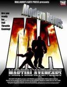 Modern Heroes: Martial Avengers