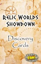 Relic Worlds Showdown Discovery Cards