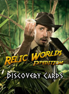 Relic Worlds Expeditions - Discovery Cards