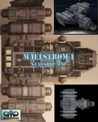 Maelstrom 1 Starship Battle Map