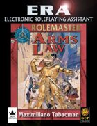 ERA for Rolemaster RMFRP Arms Law