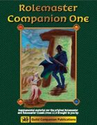 Rolemaster Companion I