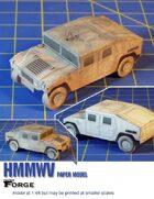 HMMWV Paper Model