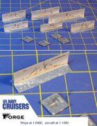 Modern US Navy Cruisers