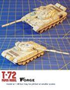 T-72 Paper Model