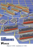 Modern US Navy Submarines