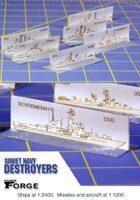 Modern Soviet Destroyers
