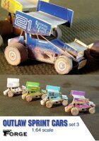Outlaw Sprint Cars: Set 3 (3D models)