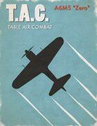 Table Air Combat: A6M5 Zero