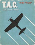 Table Air Combat: Ki-84 Frank