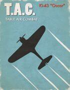 Table Air Combat: Ki-43 Oscar