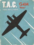 Table Air Combat: G4M Betty