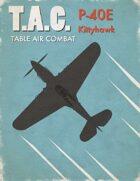 Table Air Combat: P-40E